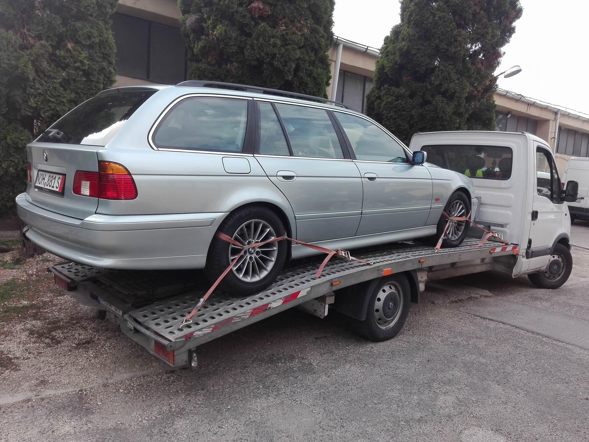 A baráti áron elvégzett autómentés