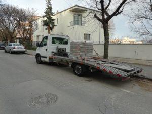 raklapos szállítás