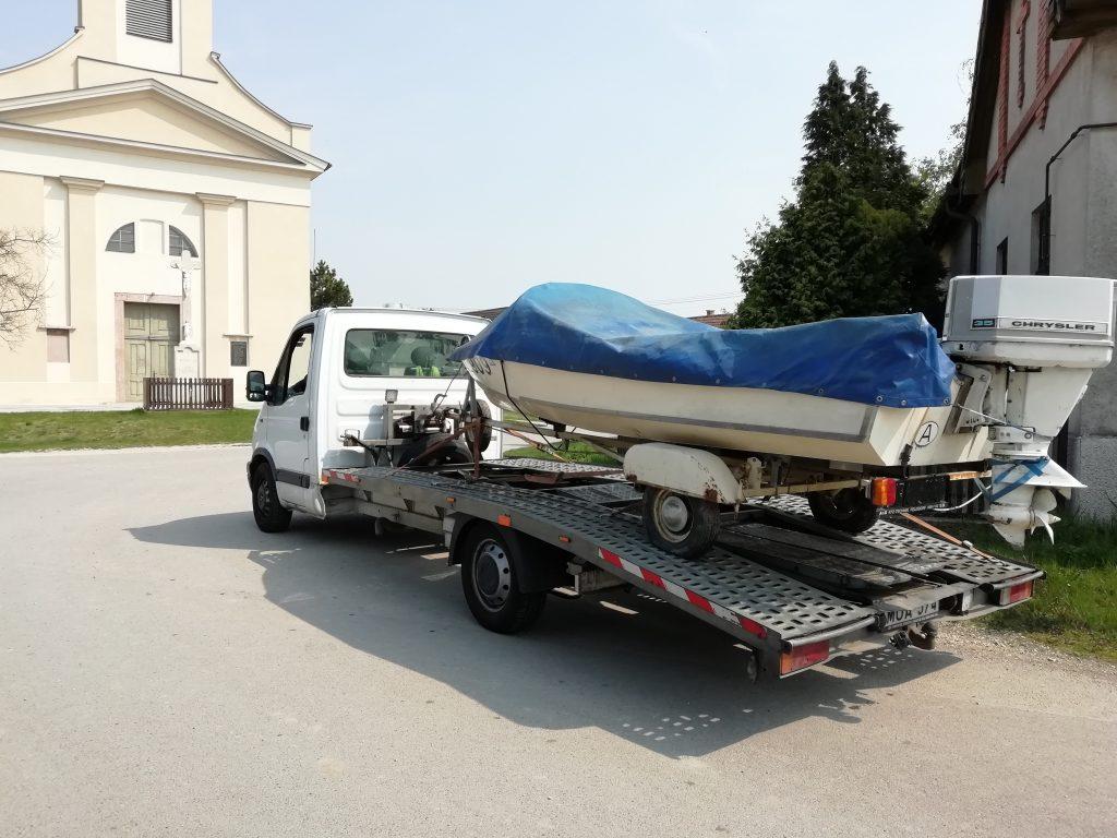 Hajószállítás, csónakszállítás