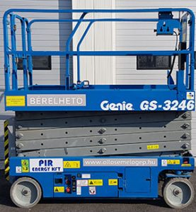 Felkapott ollós emelő – Genie GS 3246