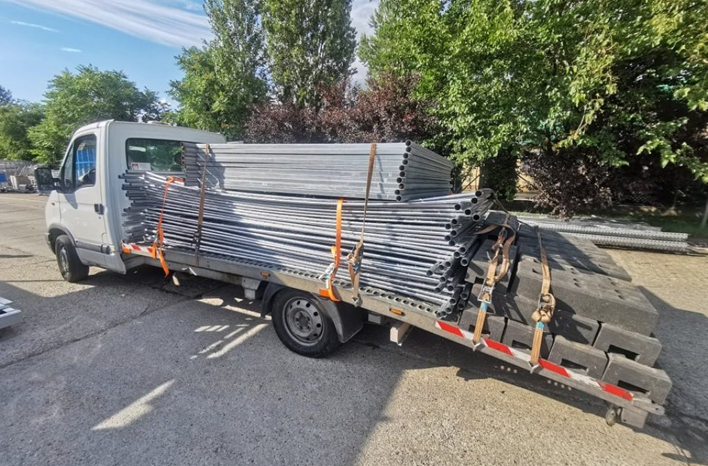 Gépszállítás, munkagépszállítás és egyéb építőanyag/raklapos áruszállítás!