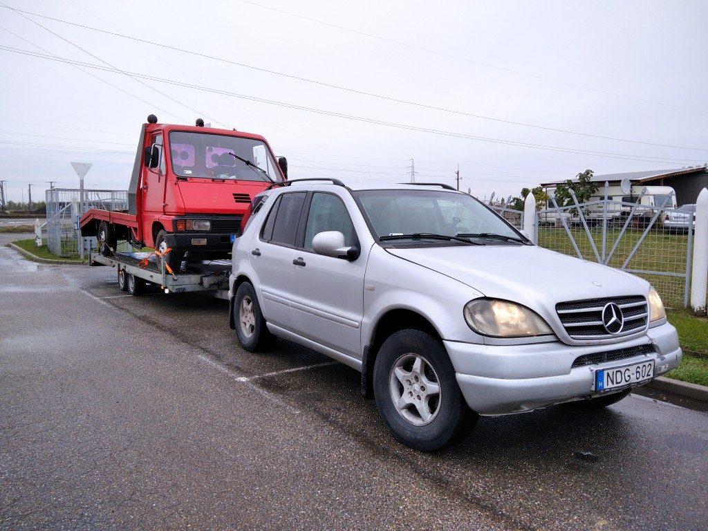 Kisteherautó mentés I. kerület