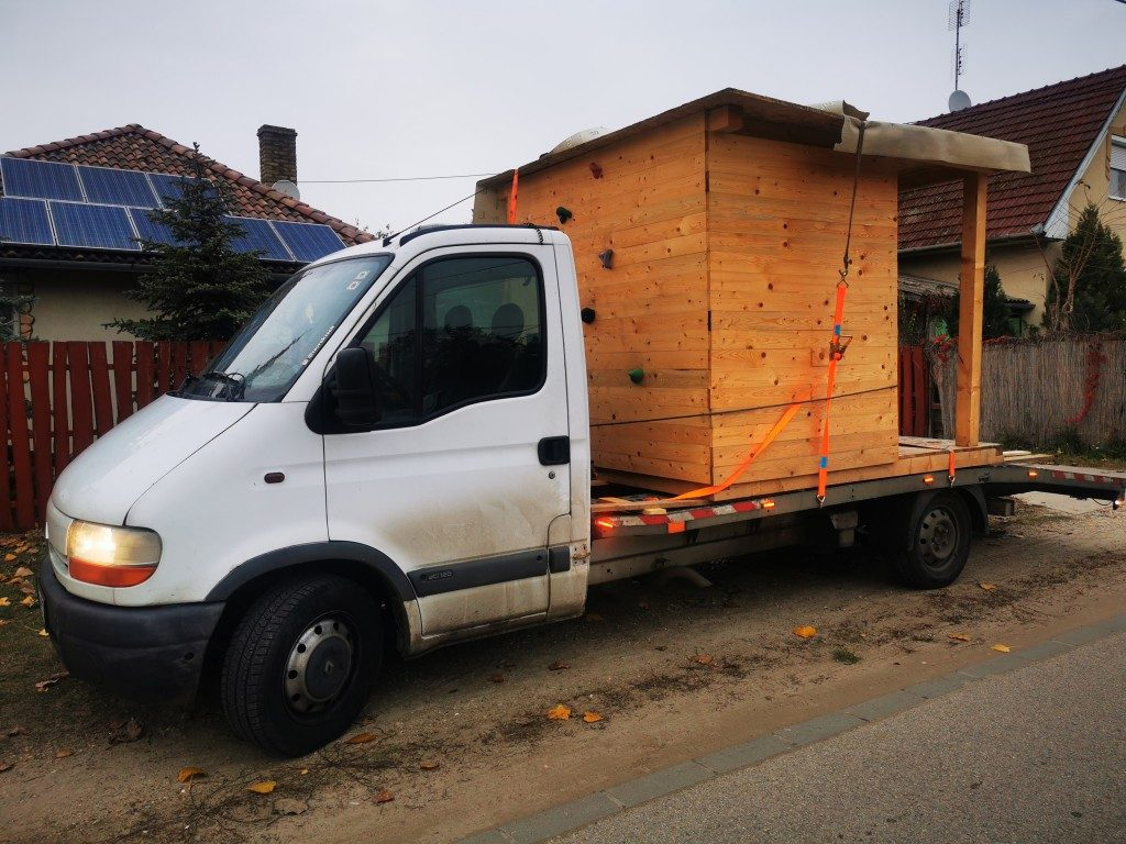 faház szállítás