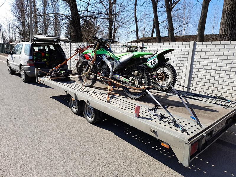 Motor szállítás